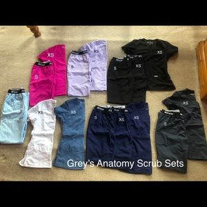 Grey's Anatomy Scrub Sets